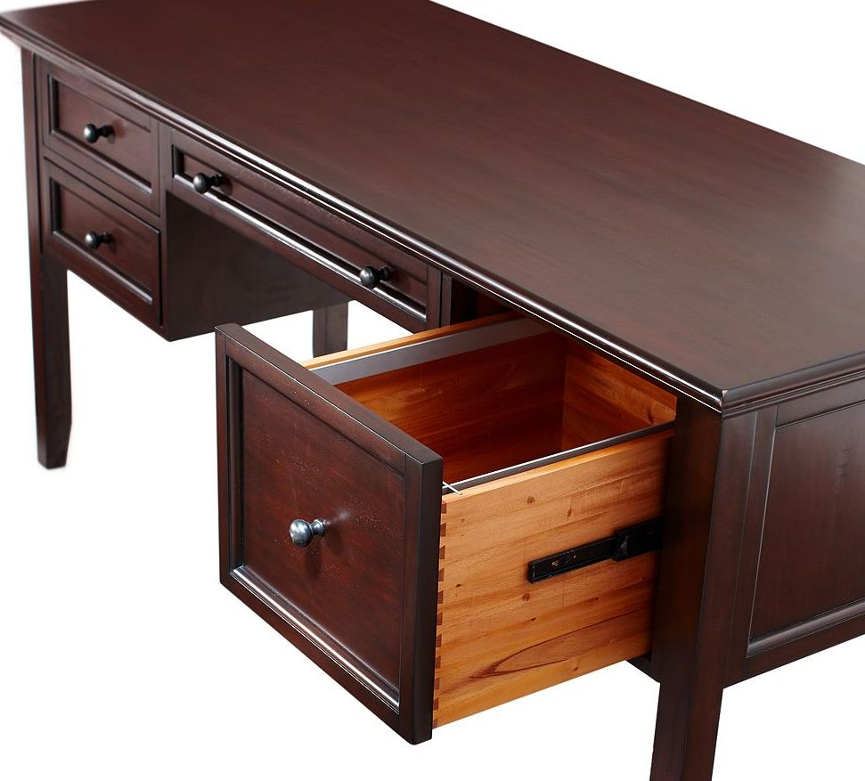 Estilo houston detalle de gaveta muebles lolo morales nicaragua custom furniture - Escritorios de madera ...