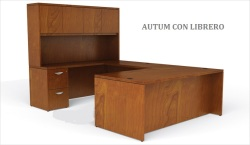 escritorios de Melamina línea Autum